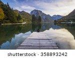 mountain lake in the julian... | Shutterstock . vector #358893242