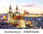 Prague. View Of The City At...