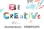 creativity and inspiration.  ... | Shutterstock .eps vector #358894295