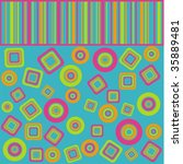 colour geometry   Shutterstock .eps vector #35889481