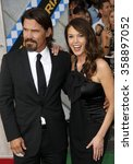 """Small photo of Josh Brolin and Diane Lane at the Los Angeles Premiere of """"Secretariat"""" held at the El Capitan Theater in Hollywood, California, United States on September 30, 2010."""