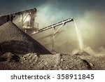 industrial background with... | Shutterstock . vector #358911845