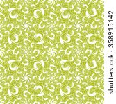 seamless creative hand drawn... | Shutterstock .eps vector #358915142