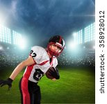 american football. | Shutterstock . vector #358928012