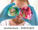 health care and biotechnology... | Shutterstock . vector #358931825