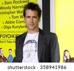 "Small photo of Colin Farrell at the Los Angeles premiere of ""Seven Psychopaths"" held at the Mann Bruin Theatre, Los Angeles, United States on October 1, 2012."