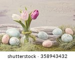 Easter Pastel Colored...