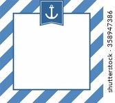 Nautical Vector Card Or...