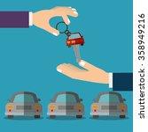 car sale design    Shutterstock .eps vector #358949216