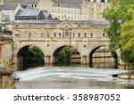 View Of The City Of Bath Spa...