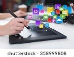 designer. | Shutterstock . vector #358999808