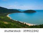 Da Nang Beach Near Hai Van Pass ...