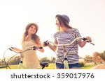 positive lovely happy girls... | Shutterstock . vector #359017976