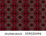 colorful abstract design of... | Shutterstock . vector #359020496