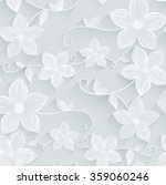 seamless background floral... | Shutterstock .eps vector #359060246