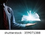 reading books concept | Shutterstock . vector #359071388