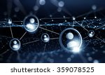 web connection and communication | Shutterstock . vector #359078525