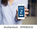 update phone message in a... | Shutterstock . vector #359082632