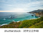 northern california coastline ... | Shutterstock . vector #359111948