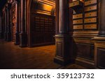 old library and knowledge | Shutterstock . vector #359123732