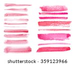 watercolor hand painting... | Shutterstock .eps vector #359123966