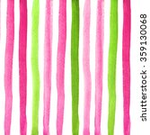 pattern with watercolor stripes | Shutterstock . vector #359130068