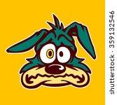 vintage toons  funny retro... | Shutterstock .eps vector #359132546