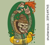 vector eps   dead hooligan  ...   Shutterstock .eps vector #359149745