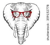elephant | Shutterstock .eps vector #359152778