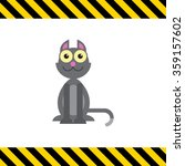 grey cat icon | Shutterstock .eps vector #359157602