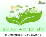 ecology connection concept... | Shutterstock .eps vector #359162546