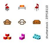 design elements or logotype... | Shutterstock .eps vector #35918110