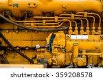Old Yellow Diesel Engine Details