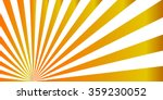 gold sunburst vector | Shutterstock .eps vector #359230052