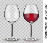 Transparent Vector Wineglass...
