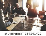 meeting corporate success... | Shutterstock . vector #359241422