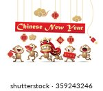 Chinese New Year Monkey...