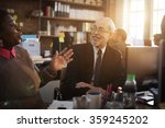 business people talking... | Shutterstock . vector #359245202