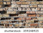 old exterior brick wall | Shutterstock . vector #359248925