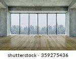 modern lofty interior with... | Shutterstock . vector #359275436