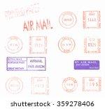 british postage meters vintage