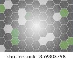 hexagon pattern background | Shutterstock .eps vector #359303798