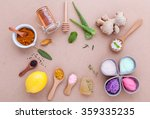 alternative skin care and... | Shutterstock . vector #359335235