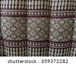 thai pillow background texture | Shutterstock . vector #359372282