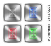 color calculator icons engraved ...