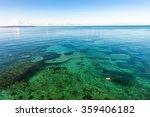 sea  seascape. okinawa  japan. | Shutterstock . vector #359406182