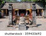 citadel image in hoa lu | Shutterstock . vector #359433692