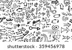 hand drawn doodle seamless... | Shutterstock .eps vector #359456978