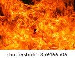 fire flame background | Shutterstock . vector #359466506
