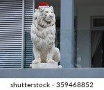 Lion Statue.